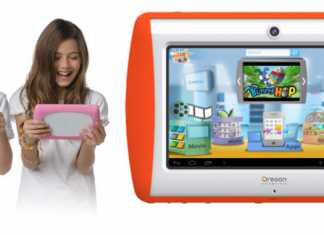 La tablette Meep pour enfant d'Oregon Scientific disponible au prix de 149,90€ 3