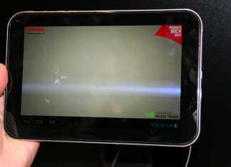 Vidéo tablette Android Toshiba AT270 & AT300 lors de l'IFA de Berlin  3