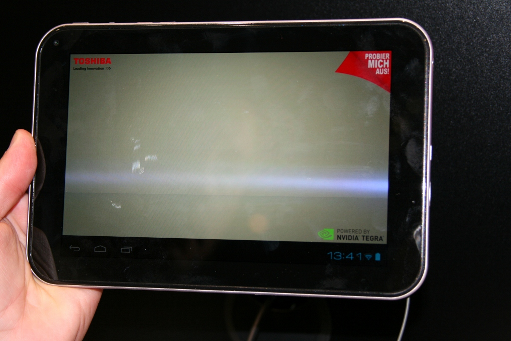 Vidéo tablette Android Toshiba AT270 & AT300 lors de l'IFA de Berlin