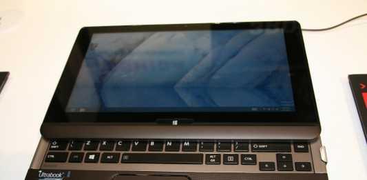 Toshiba Satellite U920T : une tablette PC sous windows 8 surprenante  5
