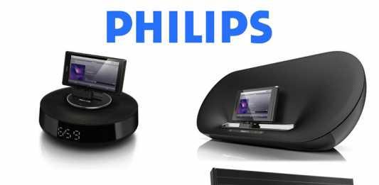 Station dock Android : Philips présente ses docks pour tablette tactile