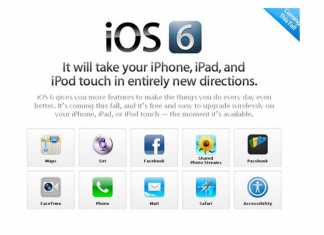 Tablette iPad : iOS 6 disponible le 19 Septembre 8