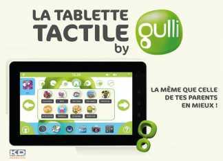 La tablette Gulli pour les enfants sera disponible le 30 septembre au prix de 199€ 2