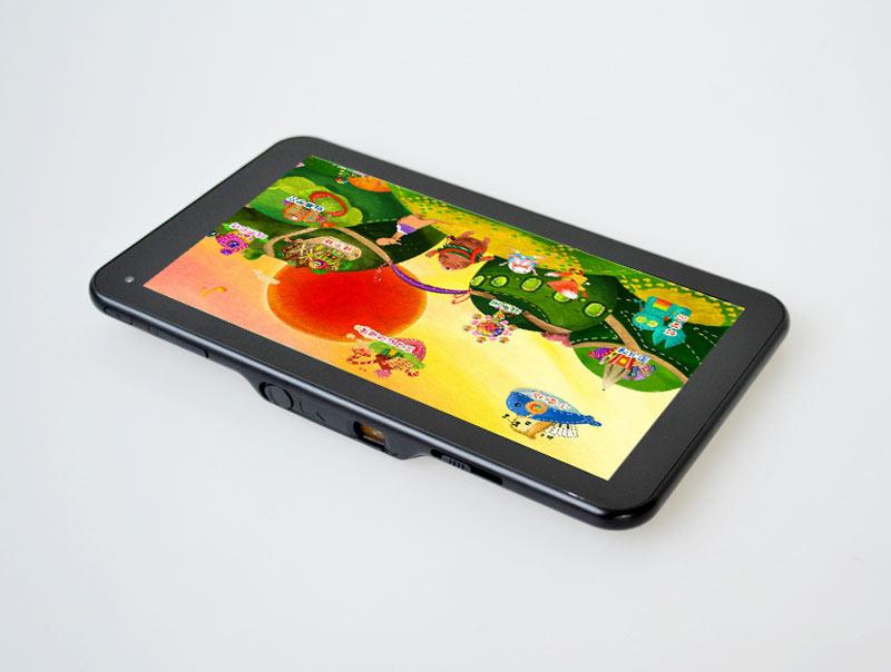 SmartQ U7 : la première tablette tactile équipée d'un pico projecteur