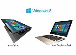 Asus dévoile les prix de ses tablettes PC Windows 8 : Asus Taichi et Asus Transformer Book 4