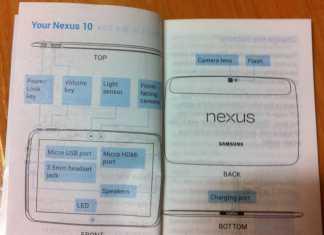 Une nouvelle preuve de la sortie prochaine d'une tablette Google Nexus 10  2