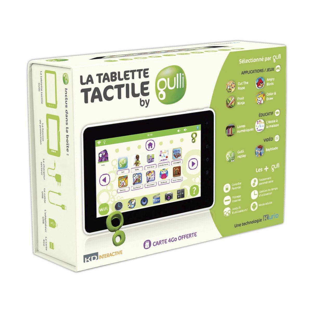 La tablette tactile by Gulli est officielle et disponible à l'achat !