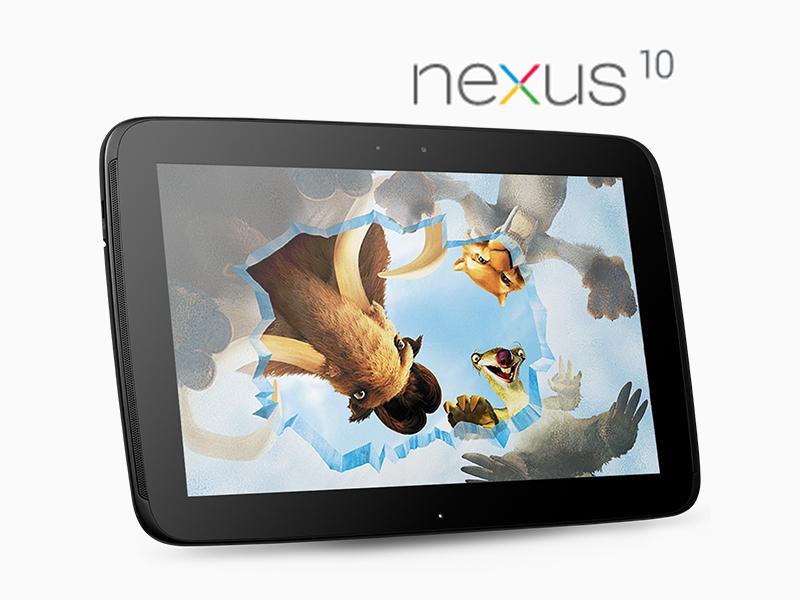 La tablette Google Nexus 10 est officielle sur Google Play !