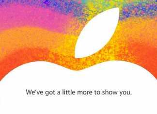 Apple invite la presse le 23 octobre, lancement officiel de l'iPad Mini  2
