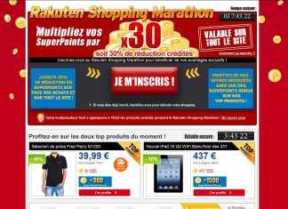 Shopping Marathon PriceMinister : jusqu'à 20 heures, -10% Nouvel iPad 16 Go WiFi Blanc/Noir