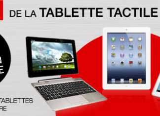 Semaine de la tablette tactile sur le site de la Fnac !