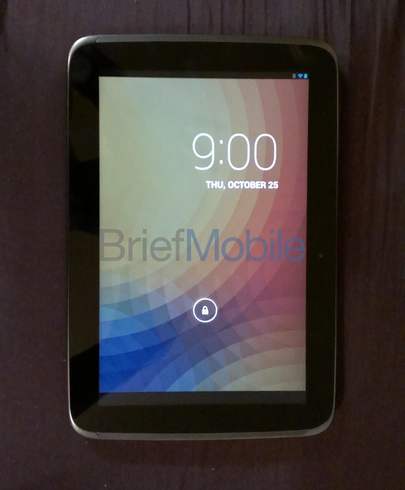 Les premières photos et vidéo de la tablette Google Nexus 10