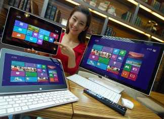 LG H160 hybrid : une tablette tactile de 11,6 pouces sous Windows 8 en prévision 1