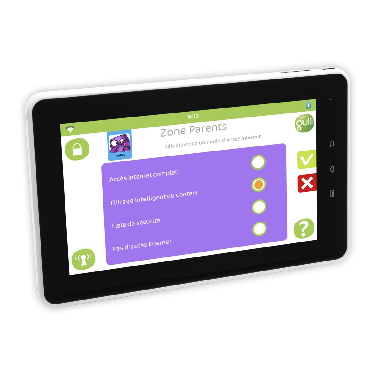 tablette tactile by gulli zone parents. Black Bedroom Furniture Sets. Home Design Ideas