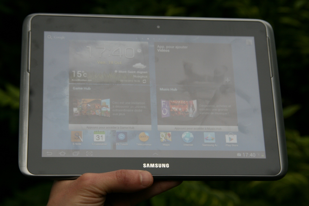 test samsung galaxy note 10 1 tablette avec stylet. Black Bedroom Furniture Sets. Home Design Ideas