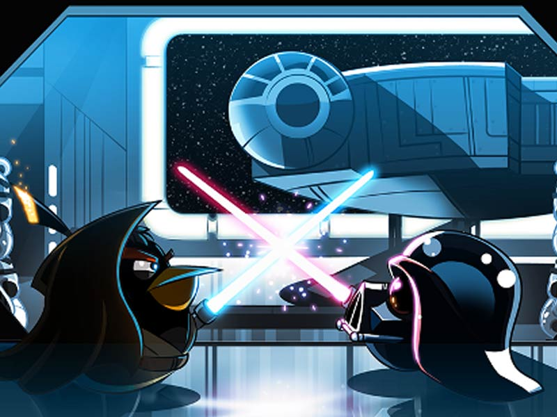 Angry birds star wars disponible aujourd 39 hui sur ios et android - Telecharger angry birds star wars ...