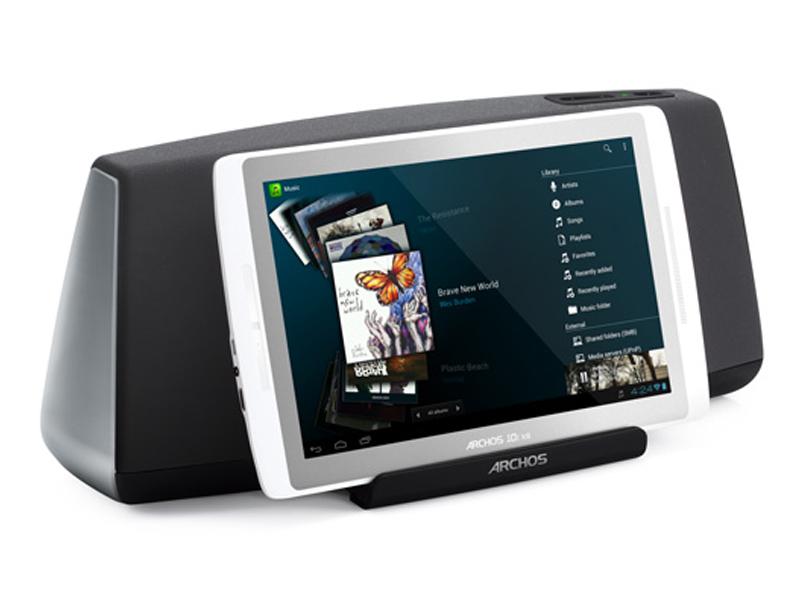 Archos lance un dock pour tablette tactile