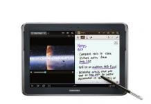 Tablette Samsung Galaxy Note 10.1 obtient la mise à jour Android 4.1 Jelly bean