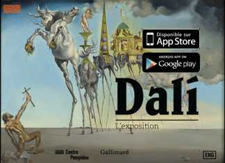 "Le centre Pompidou propose l'exposition ""Dali"" sur tablette tactile  2"