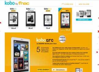 La tablette Kobo Arc disponible dès le 19 novembre sur Fnac.com 1