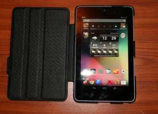 Housse en cuir Norêve pour tablette Google Nexus 7  3