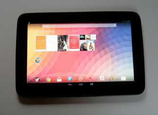 Test tablette Google Nexus 10 1