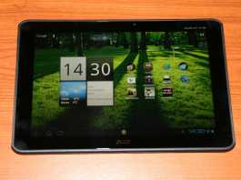 Test tablette Acer Iconia Tab A700 2