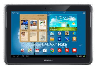 Forfait tablette tactile : la Galaxy Note 10.1 4G chez SFR