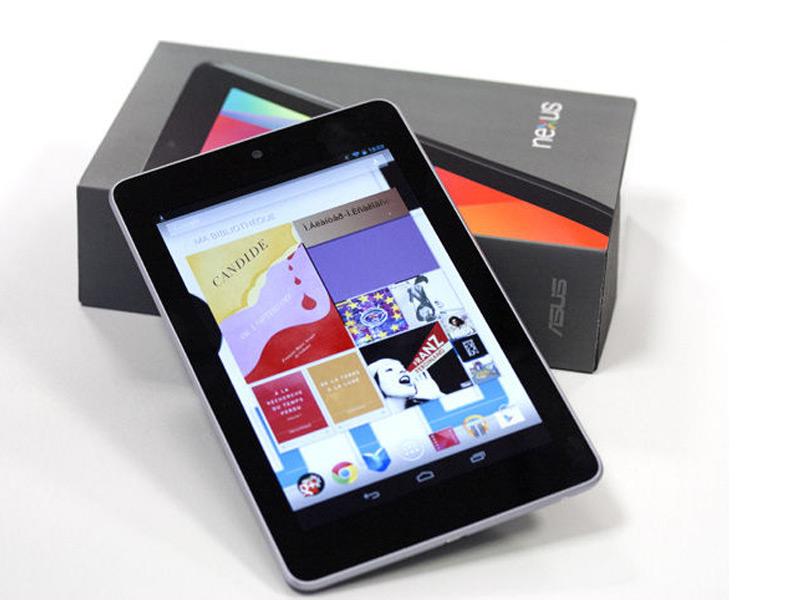Les prix des tablettes Nexus 7 et HP slate 7 baissent aux Etats-Unis
