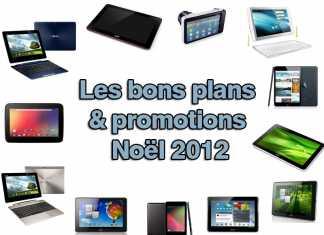 Toutes les tablettes tactiles en promotion - Noël 2012  3