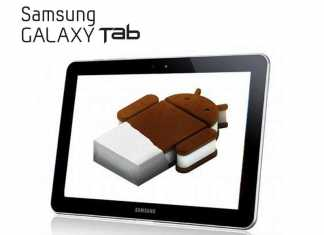 Tablette Samsung Galaxy Tab 8.9 : lancement de la mise à jour Android 4.0 icecream sandwich 1