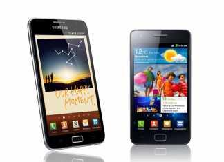 Le Samsung Galaxy S2 et Galaxy Note auront la mise à jour Android 4.1.2 en 2013