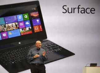 Microsoft Surface : 1 million de tablettes vendues au quatrième trimestre 2