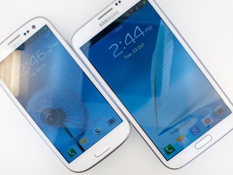 Samsung Galaxy Note 3 : vers un écran encore plus grand ?  1