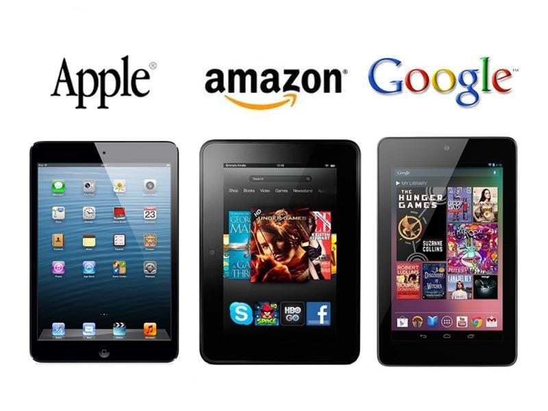Explosion des ventes pour les tablettes 7 pouces en décembre
