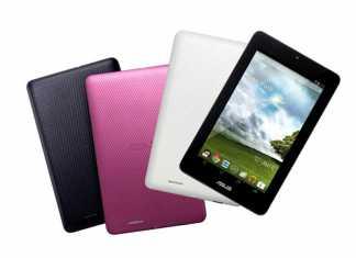 Première vidéo de la tablette Asus MeMO Pad 7 2