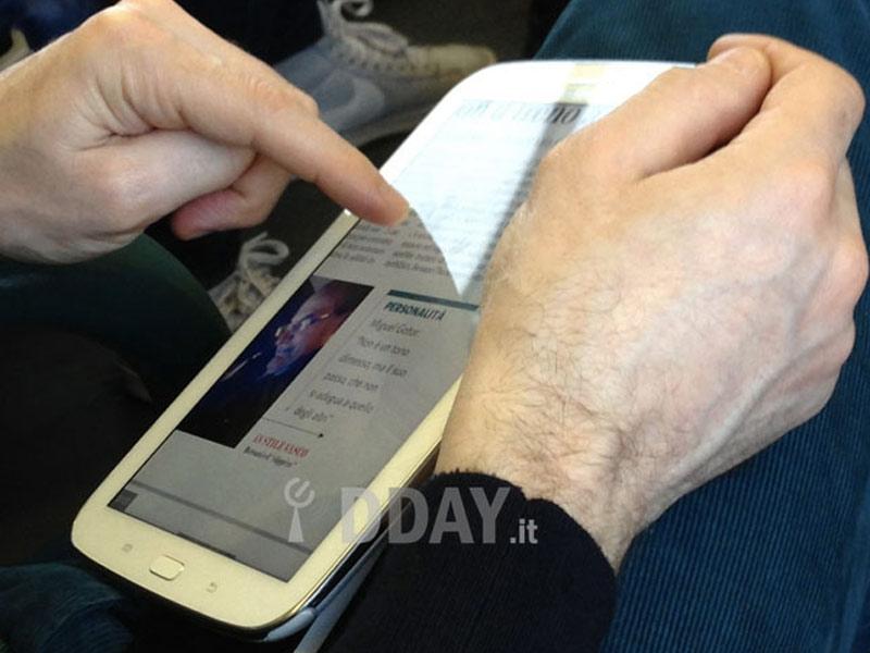 Premières photos de la tablette Samsung Galaxy Note 8
