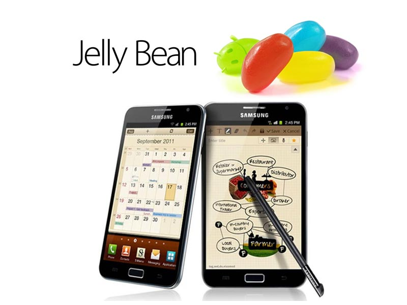 Le Samsung Galaxy Note aura le droit à la suite Premium lors de sa mise à jour vers Android 4.1