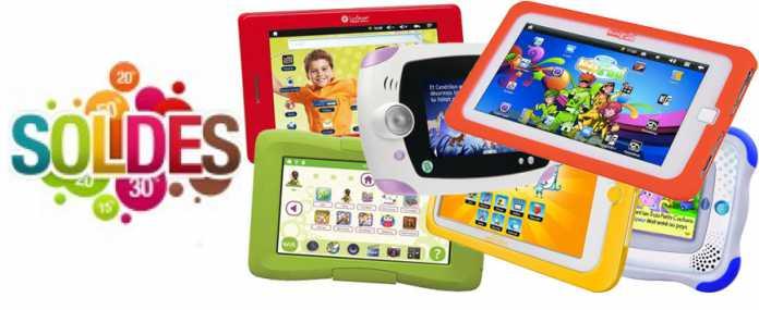 Les tablettes tactiles pour les enfants en soldes