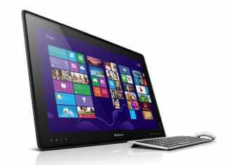"""Lenovo présente une tablette """"table"""" pour la famille de 27 pouces  6"""