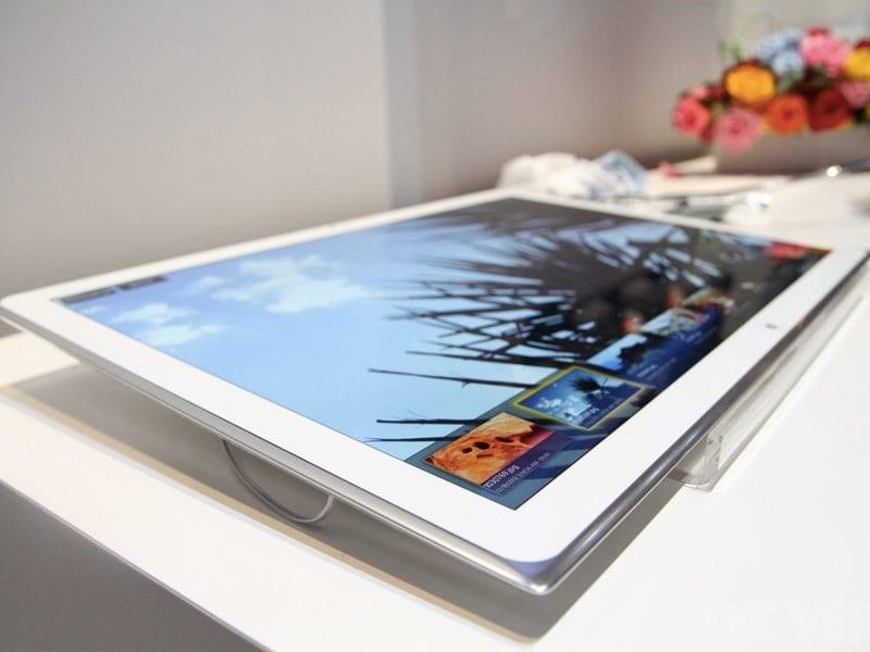 Panasonic lance une tablette 20 pouces avec la technologie 4K