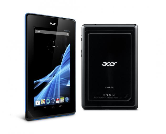 Acer annonce la version 16Go de sa tablette Iconia B1-A71