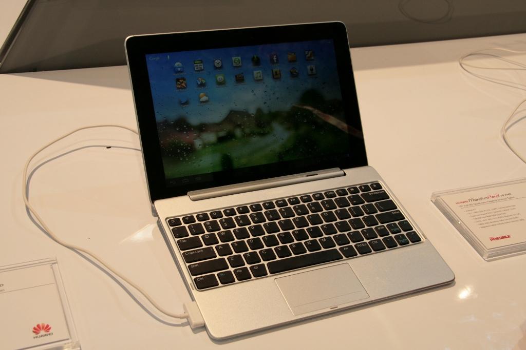 [MWC 2013] Présentation de la tablette Huawei MediaPad FHD