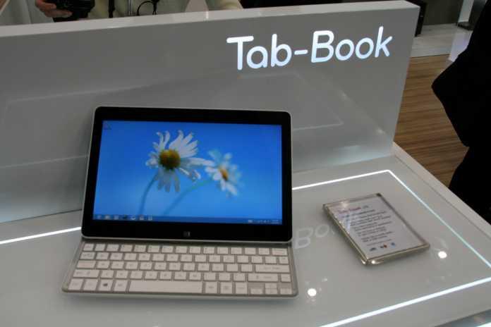 [MWC 2013] La tablette hybrid LG Tab Book en vidéo, démonstration prix et diponibilité 6