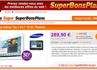 Bon plan pour acheter la tablette Samsung Galaxy Tab 2 10.1 16 Go  1