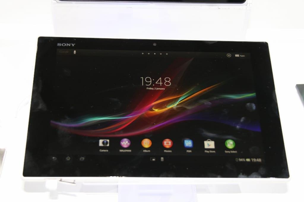 [MWC 2013] Prise en main de la tablette Sony Xperia Tablet Z