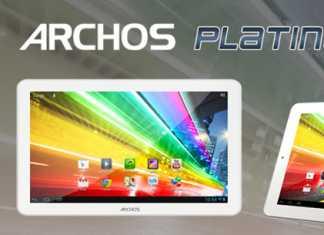 Archos lance la gamme Platinium : trois nouvelles tablettes tactiles sous Android 4.1 9