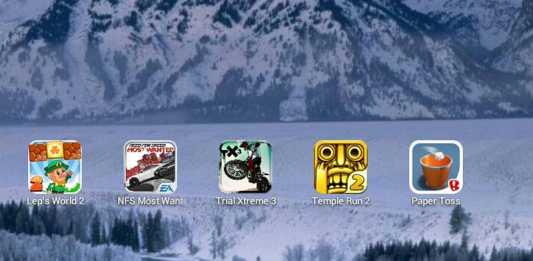 Top 5 des jeux vidéos Android - Hiver 2013 1