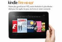 La tablette Amazon Kindle Fire HD au format 8.9 pouces est disponible en France  2