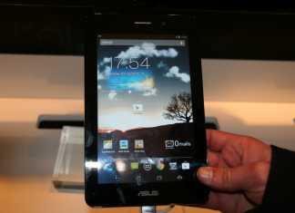 [MWC 2013] Prise en main de la tablette Asus FonePad  8